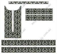 Вишивка хрестиком Схеми вишиванок на http://www.megaoberig.com.ua