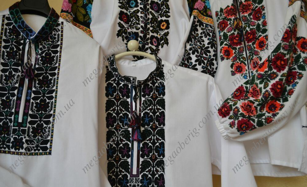 Сучасна українська вишиванка