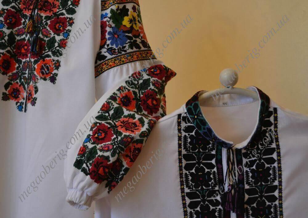 Заготовки вишиванок і схеми до них на http://www.megaoberig.com.ua