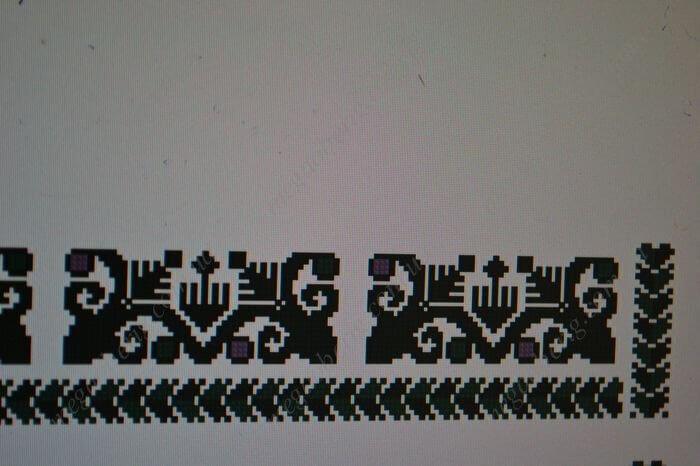 Схема вишиванки чоловічої 06М Низ