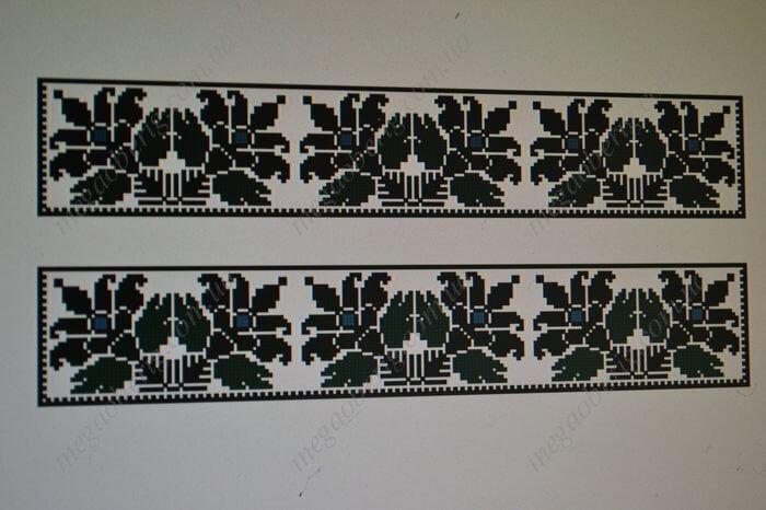 Схема вишиванки чоловічої 06М Манжет