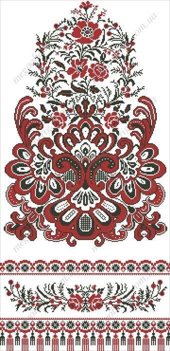 """""""Квітка роду"""" Весільний рушник"""